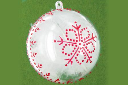 Boule de Noël - Décoration du sapin – 10doigts.fr