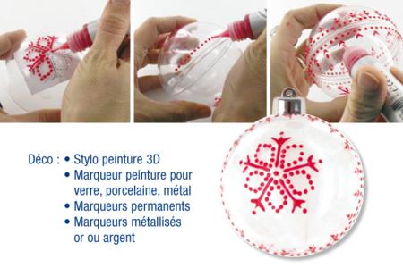 Stylos de peinture 3D, 6 couleurs vives - 10,5 ml - Stylos peinture 3D – 10doigts.fr