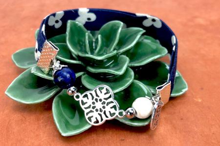Biais coton fleurs - Set de 5 - Rubans et cordons – 10doigts.fr
