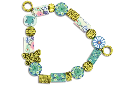 Perles charm's intercalaires dorés - 30 perles - Perles intercalaires – 10doigts.fr
