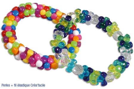 Bracelets de perles tripodes - Bijoux – 10doigts.fr
