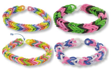 Bracelets en élastiques - Bijoux – 10doigts.fr