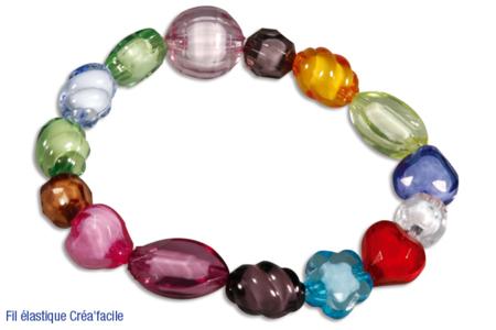 Bracelets en perles à facettes - Tutos Fête des Mères – 10doigts.fr