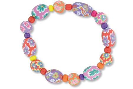 Bracelets fleuris - Bijoux – 10doigts.fr