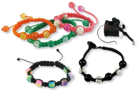 Confection de bracelets Shamballa - Tutos créations de Bijoux – 10doigts.fr