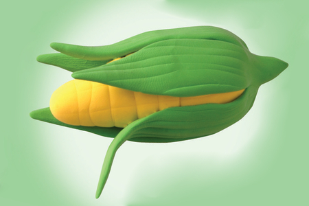 Épi de maïs en pâte à modeler - Modelage – 10doigts.fr