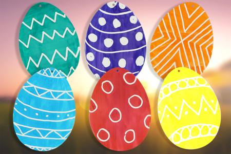 Œufs drawing gum et encre à dessiner - Pâques – 10doigts.fr
