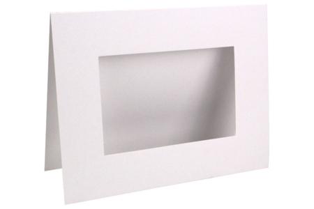 Cadre en carton blanc - Cadres en carton – 10doigts.fr