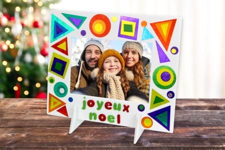 Cadre de Noël étincelant - Noël – 10doigts.fr