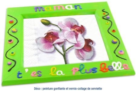 Cadre ou vide-poche déco 3D - Cadres, tableaux – 10doigts.fr