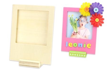 Cadre polaroid à poser - Cadres photos en bois – 10doigts.fr