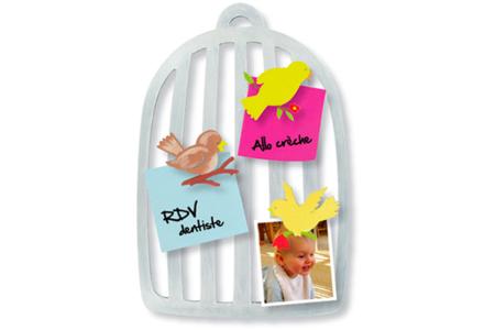 Cages à oiseaux mémo - Set de 5 - Objets pratiques du quotidien – 10doigts.fr