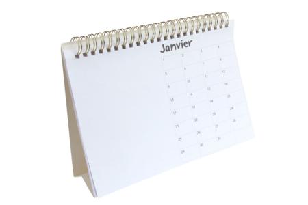 Calendrier perpétuel à spirale à décorer - Bullet Journal, Planner – 10doigts.fr