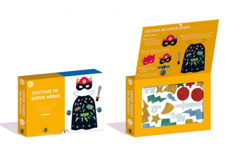 Coffret Déguisement - Costume de Super-Héros - Coffret Déguisement – 10doigts.fr