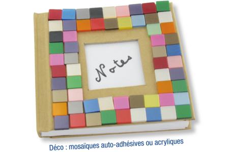 Carnet kraft déco mosaïques acrylique - Albums, carnets – 10doigts.fr