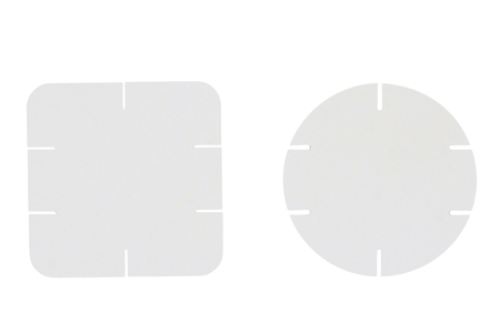 Cartes de construction en carton - Set de 100 - Maquettes en carton – 10doigts.fr