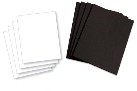 Panneaux en carte forte - Lot de 10 - Plaques et panneaux – 10doigts.fr