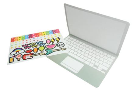 """Carte ordinateur message """"Bonne fête maman, papa"""" - Kits activités carteries – 10doigts.fr"""
