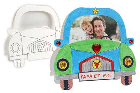 Cartes voiture à fabriquer - Lot de 12 cartes - Cartes et poèmes de fêtes – 10doigts.fr