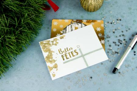 Cartes et enveloppes blanches - Lot de 10 - Carterie – 10doigts.fr