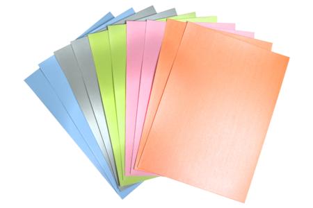 Papier épais couleurs nacrées  - 50 feuilles - Papiers Format A4 – 10doigts.fr