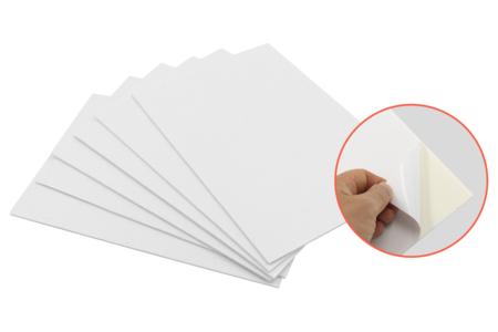 Carton mousse avec face adhésive - Épaisseur 3 mm - Carton Plume et Polystyrène – 10doigts.fr
