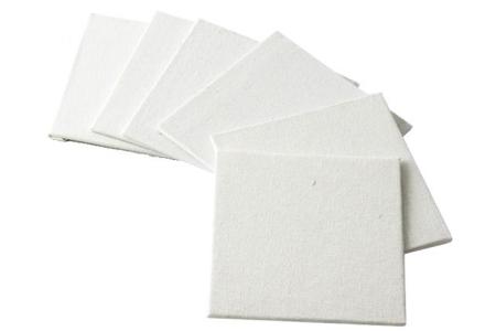 Cartons entoilés carrés - 100% Coton - Cartons toilés – 10doigts.fr