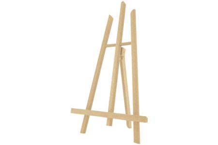 Chevalet de table en bois - 38 x 21 cm - Chevalets et accessoires – 10doigts.fr