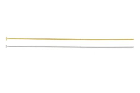 Clous à tête plate pour bijoux - Lot de 50 - Clous pour bijoux – 10doigts.fr