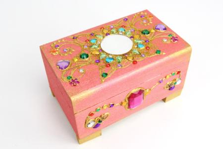 Coffre bijoux précieux - Tutos Fête des Mères – 10doigts.fr