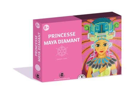 Coffret Princesses - Activité Diamants à coller - Coffret Diamond Painting – 10doigts.fr