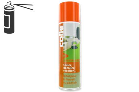 Colle aérosol repositionnable - 250 ml - Colles en aérosol – 10doigts.fr
