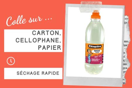 Colle Cléopâtre transparente spéciale SLIME - 1 Litre - Colles spécifiques – 10doigts.fr