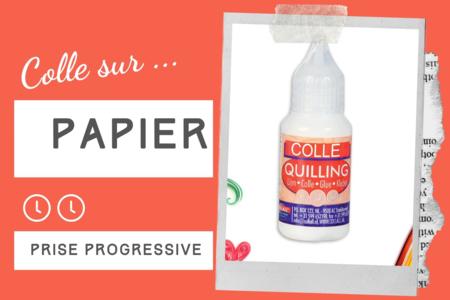 Colle papiers quilling - Sans solvants - Colles spécifiques – 10doigts.fr