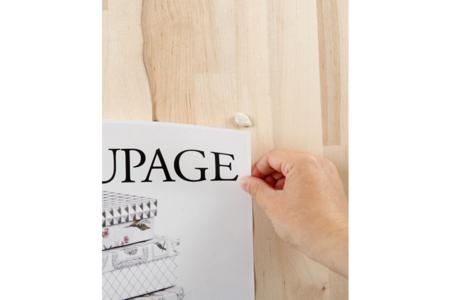 Pâte adhésive blanche - Planche de 100 gr - Colles effet 3D – 10doigts.fr