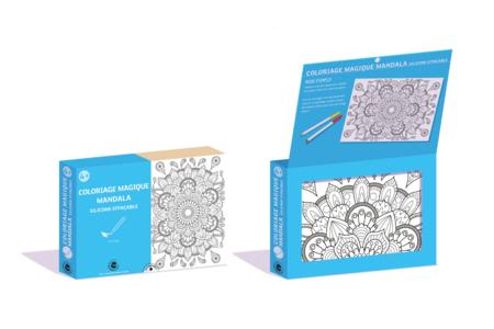Coffret Mandala - Coloriage Magique Effaçable - Coffret Coloriage et Dessin – 10doigts.fr