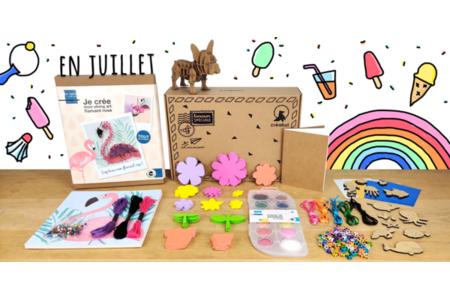 Box créative Créabul - Juillet 2020 - Box créatives – 10doigts.fr