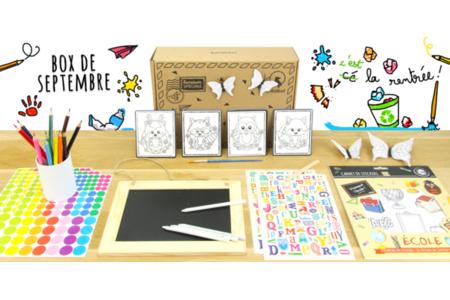 Box créative Créabul - Septembre 2019 - Box créatives – 10doigts.fr