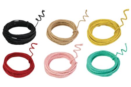 Corde de jute armée - 3 m - Cordes naturelles – 10doigts.fr