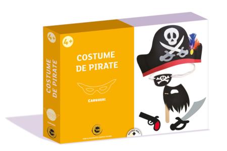 Coffret Déguisement - Costume de Pirate - Masques – 10doigts.fr