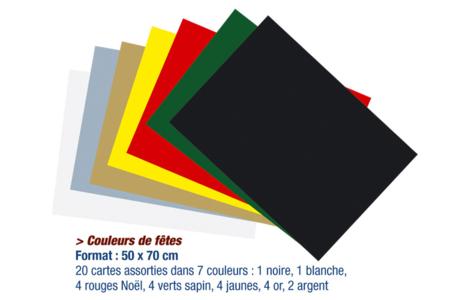 Papier épais 300 gr - Packs multicolores - Papiers épais – 10doigts.fr