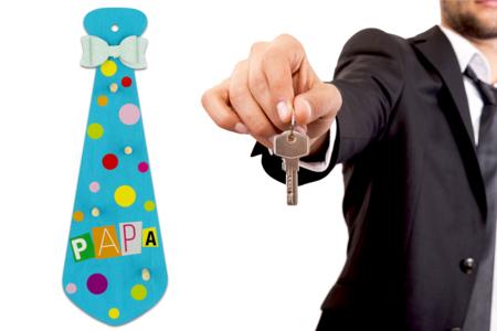 Cravate porte-clés #2 - Fête des Pères – 10doigts.fr