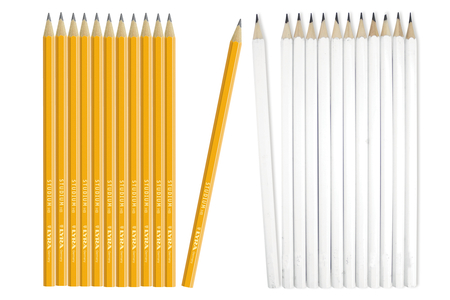 Crayons graphite hexagonaux HB - Crayons graphite – 10doigts.fr