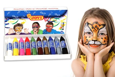 Crayons de maquillage - Set de 10 - Maquillage – 10doigts.fr
