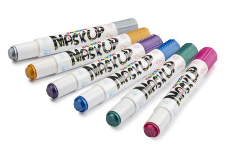 """Crayons de maquillage """"Twist"""" - 6 couleurs métallisées - Maquillage – 10doigts.fr"""