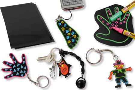 Porte-clés dorés ou argentés - Lot de 10 - Porte-clés pour bijoux – 10doigts.fr