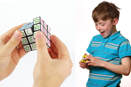 Cube magique - Supports blancs – 10doigts.fr