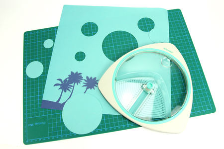 Cutter Circulaire + 3 lames de rechanges incluses - Cutters, massicot – 10doigts.fr