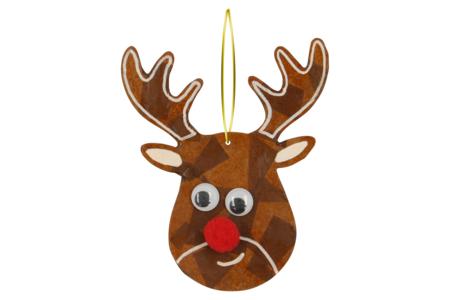 Suspension renne de Noël - Suspensions et boules de Noël – 10doigts.fr