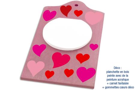 Gommettes cœurs - 4 planches - Coeurs autocollants – 10doigts.fr
